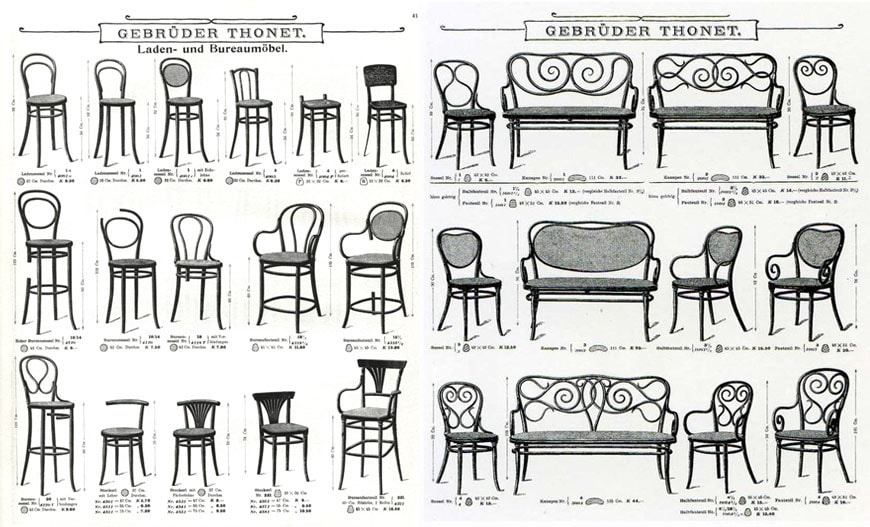 Gebruder Thonet furniture 2