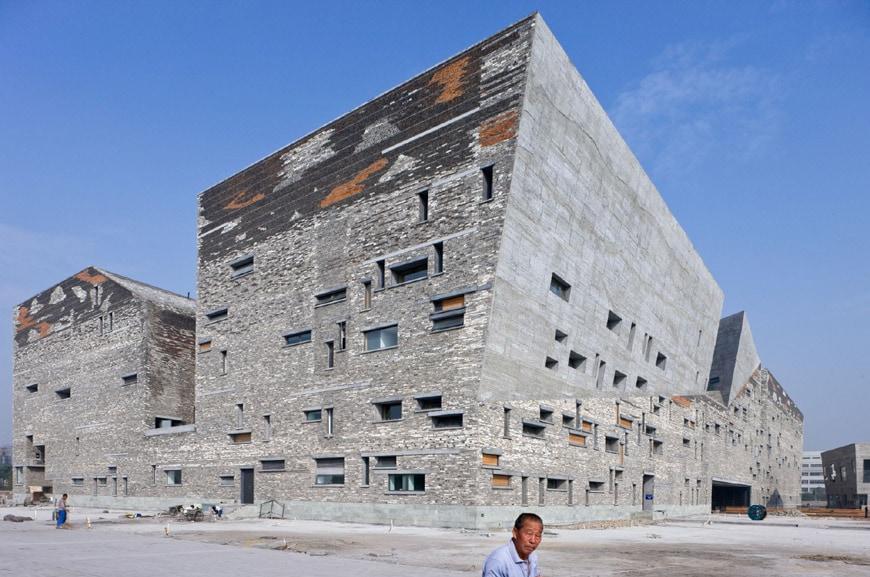 Louisiana-Museum-Wang Shu-Ningbo Museum 4124