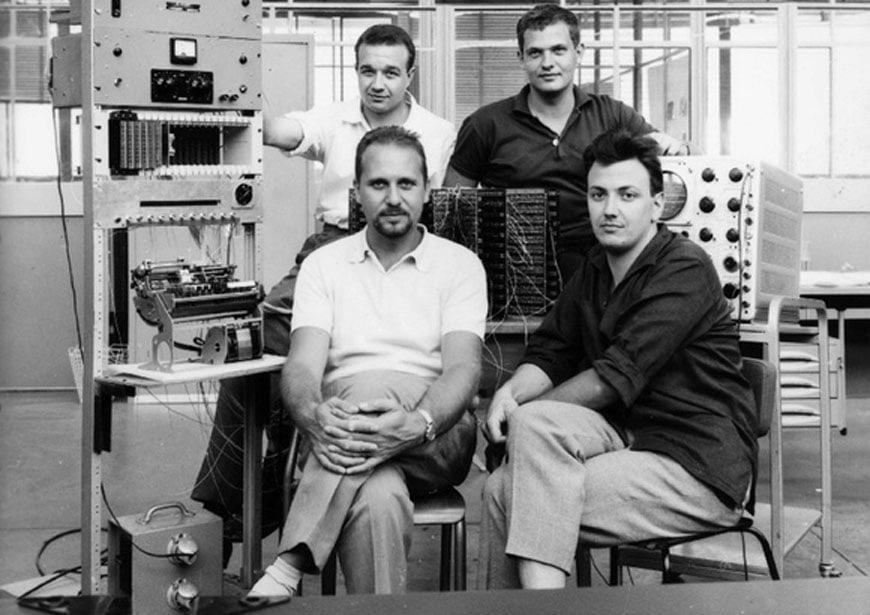 Olivetti Programma 101 Perotto team