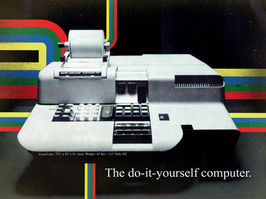 Olivetti Programma 101 desktop computer 1