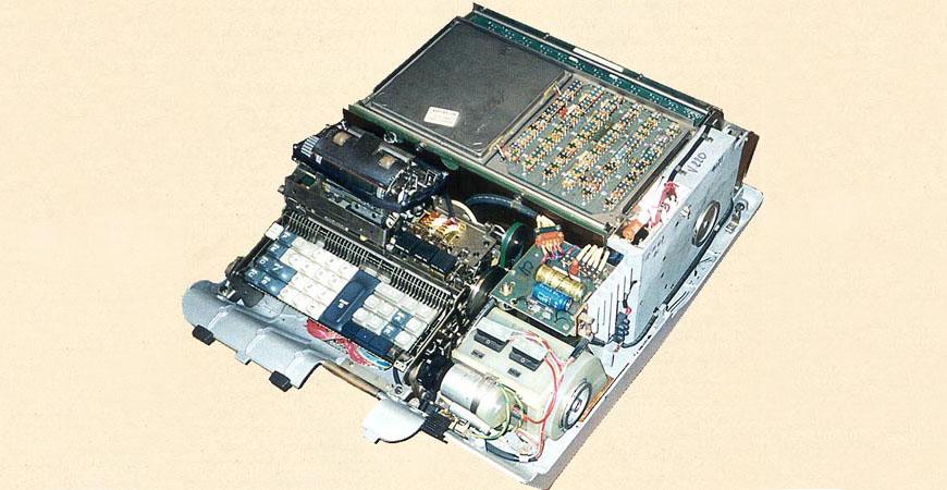 Olivetti Programma 101 interior
