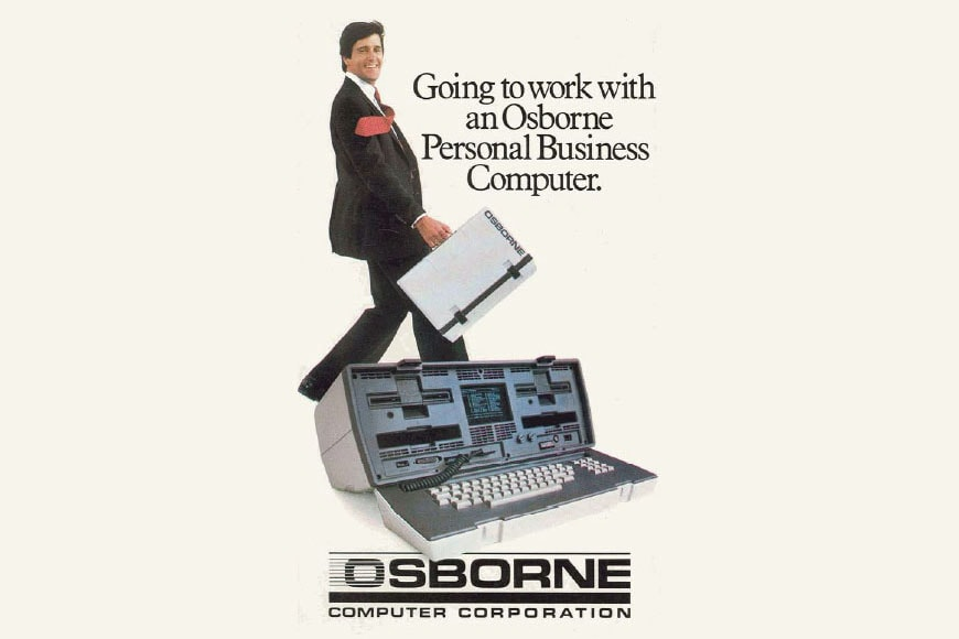Osborne 1 portable computer advertise 3