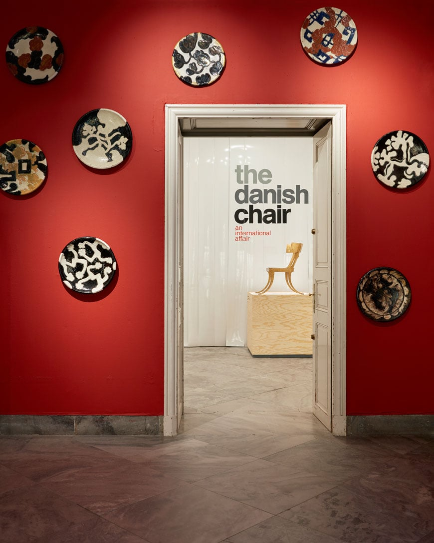 The Danish Chair 1. Designmuseum Danmark. Photo Pernille Klemp
