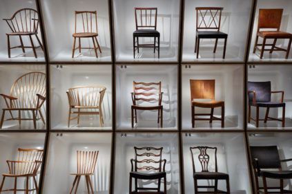 All the Danish chairs at the Designmuseum Danmark
