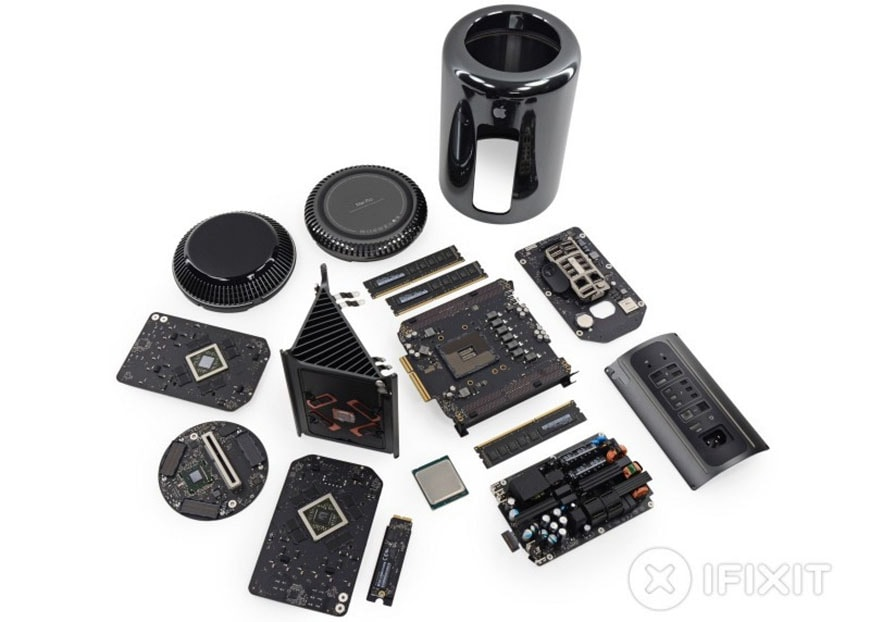 Apple Mac Pro second generation teardown