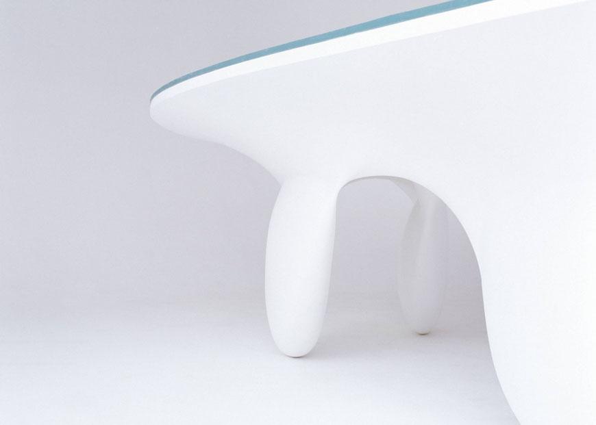 Aqua Table by Zaha Hadid