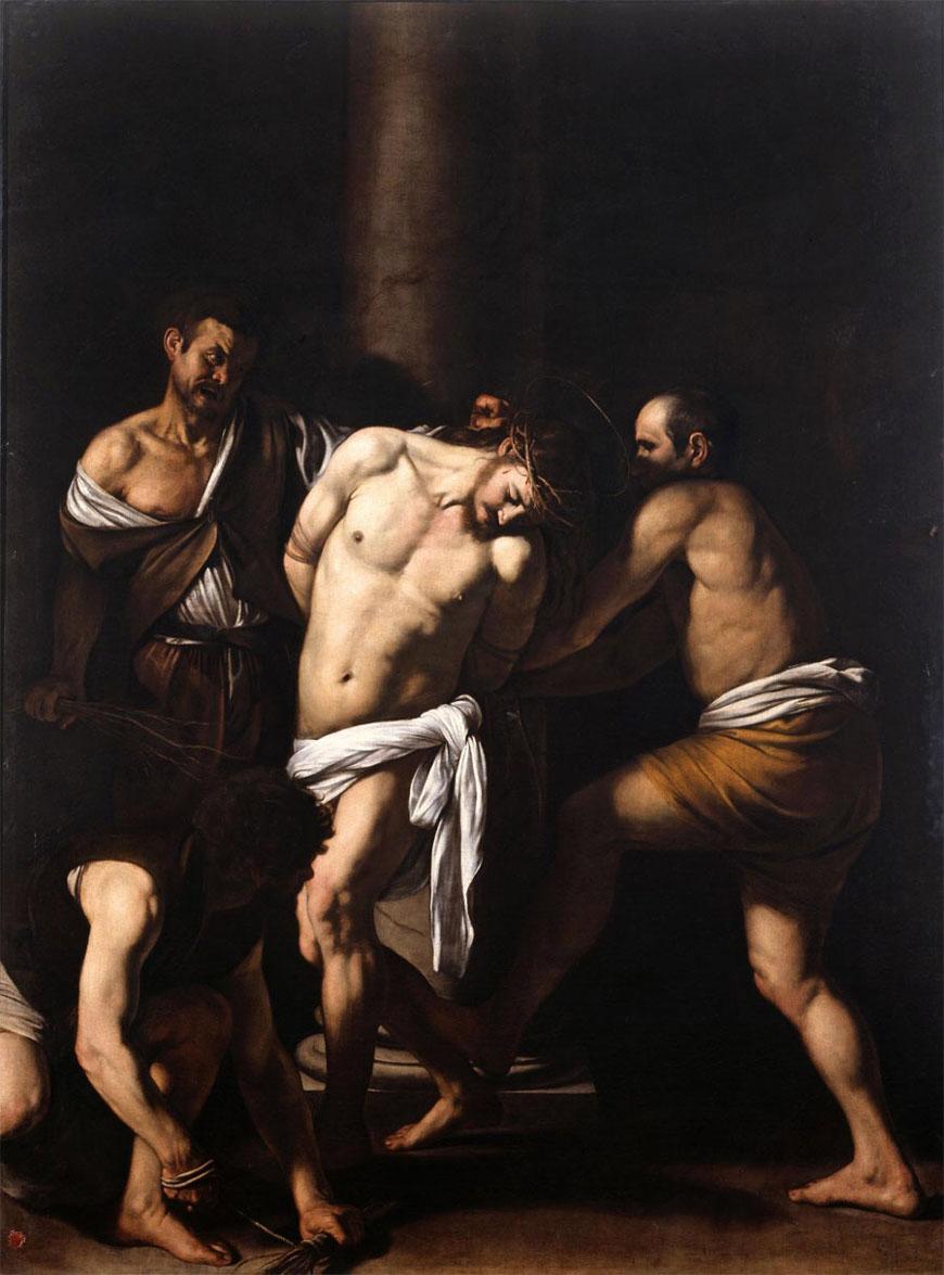 Caravaggio Flagellazione di Cristo Museo Nazionale di Capodimonte Napoli