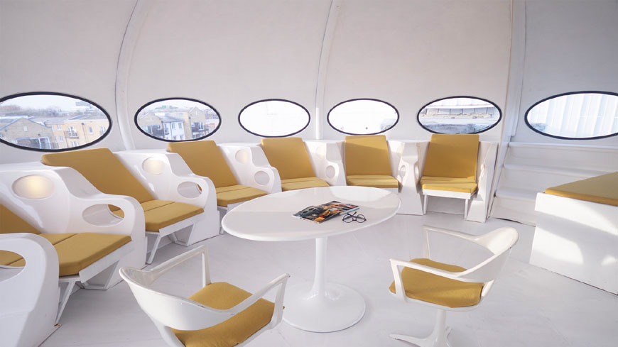 Futuro House Suuonen Central Saint Martins London 05