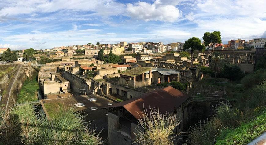 Herculaneum archaeological site Scavi di Ercolano 01