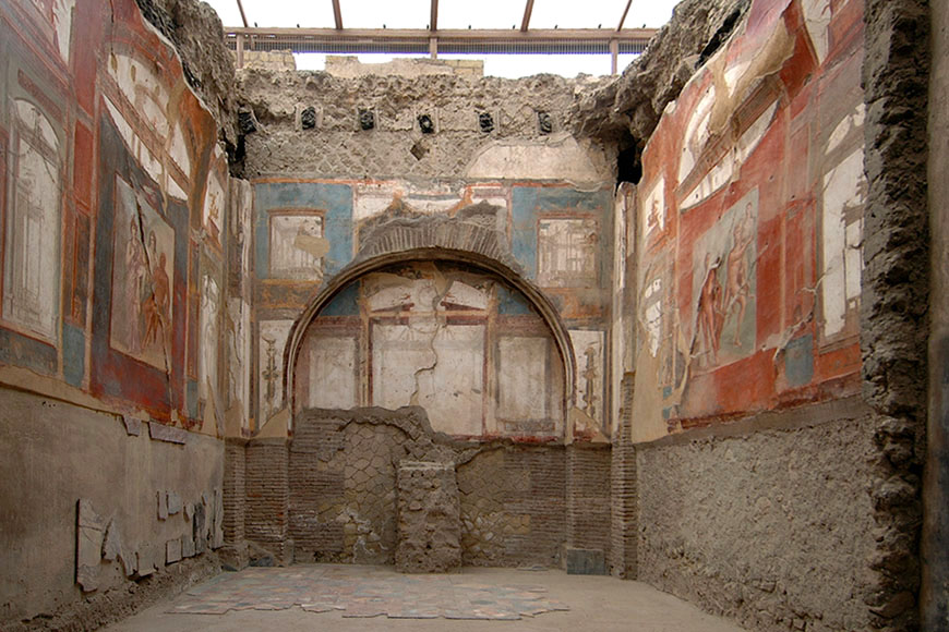 Herculaneum archaeological site Scavi di Ercolano 03