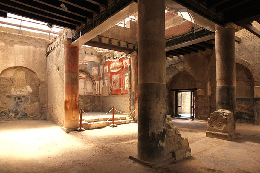 Herculaneum archaeological site Scavi di Ercolano 04
