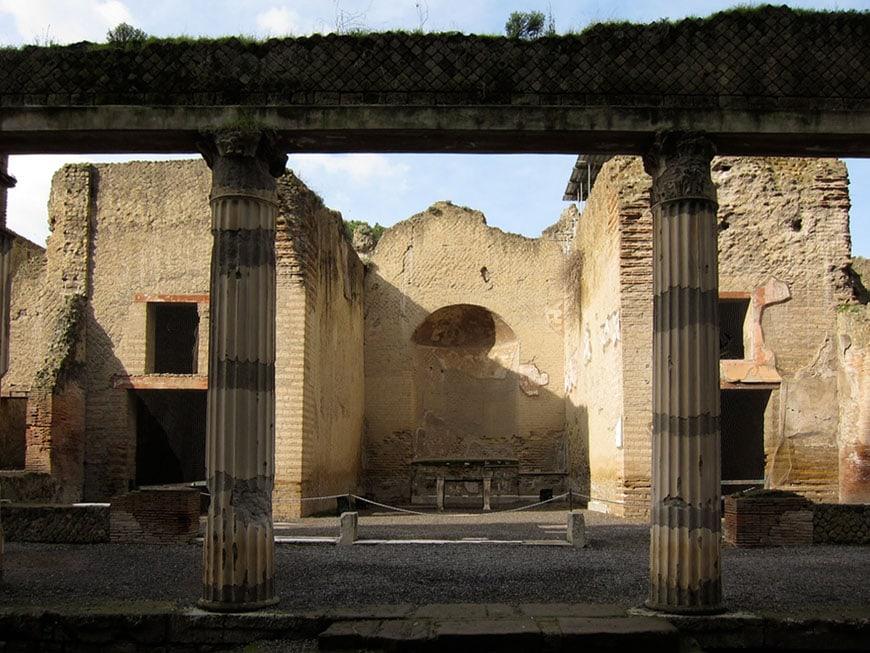 Herculaneum archaeological site Scavi di Ercolano 05