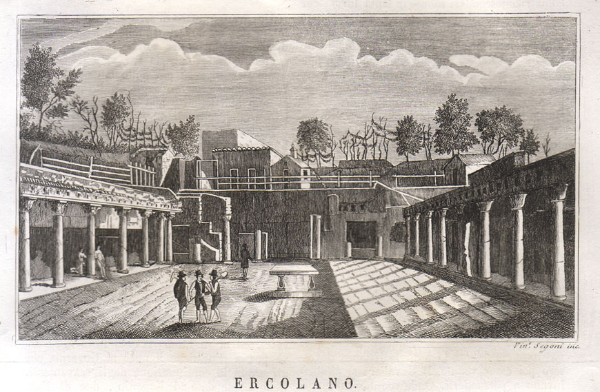 Herculaneum archaeological site Scavi di Ercolano 06