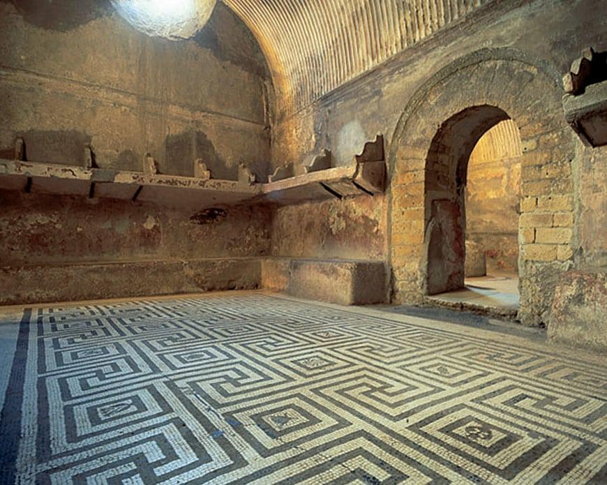 Herculaneum archaeological site Scavi di Ercolano 10