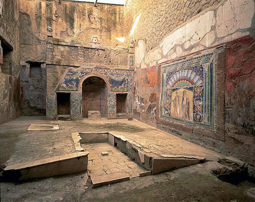 Herculaneum archaeological site Scavi di Ercolano 11