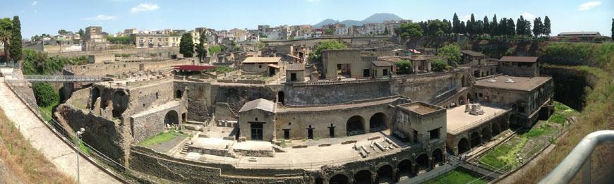 Herculaneum archaeological site Scavi di Ercolano 18