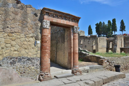 Herculaneum archaeological site – Naples