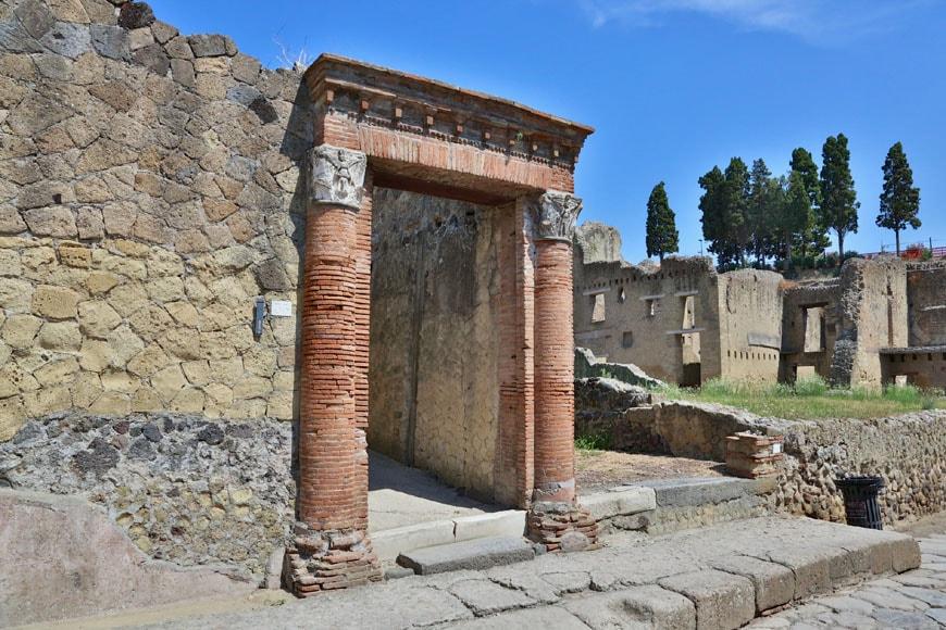 Herculaneum archaeological site Scavi di Ercolano 19
