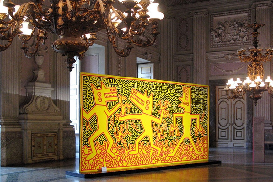 Keith Haring Royal Palace Caserta Reggia
