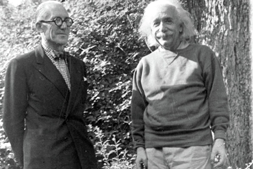 Le Corbusier Albert Einstein