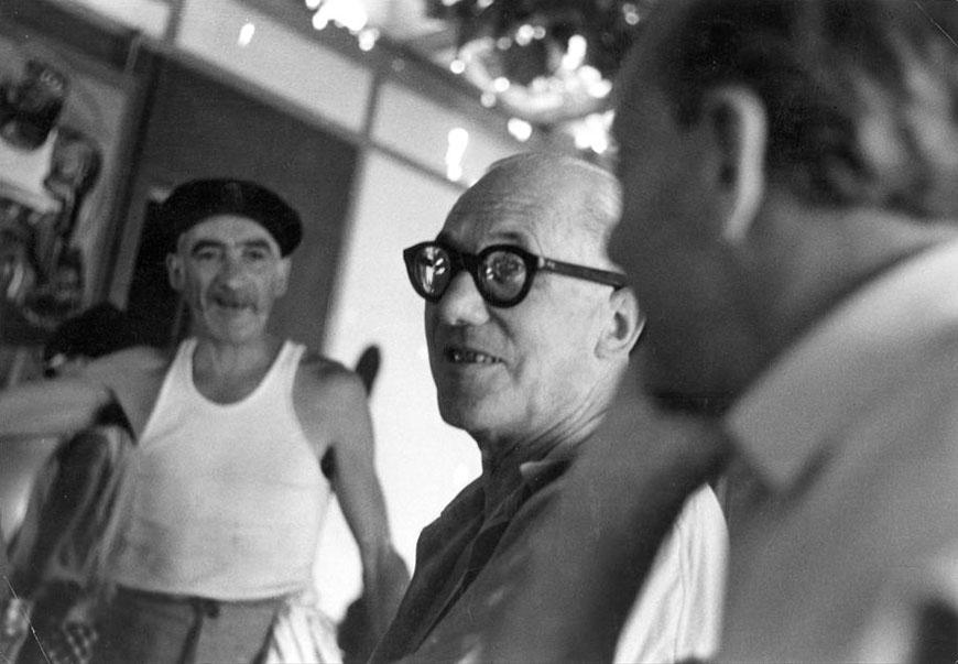 Le Corbusier Rebutato in Cap Martin