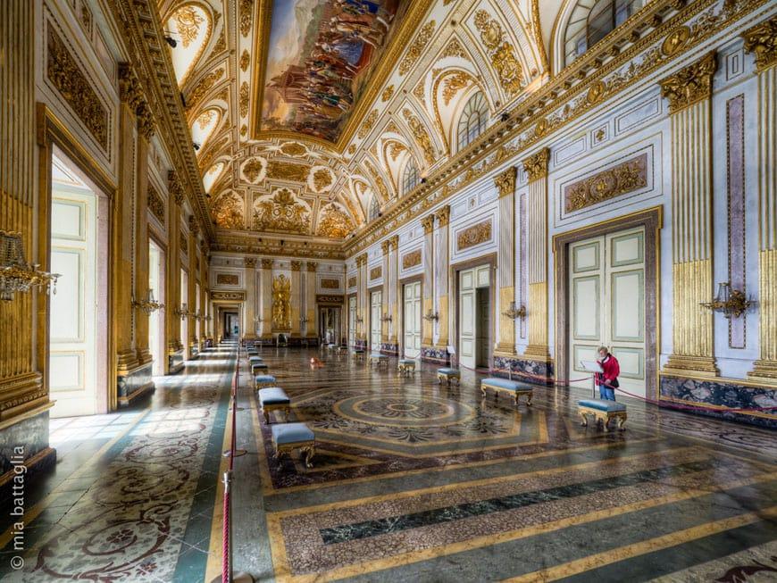 Royal Palace Of Caserta Inexhibit