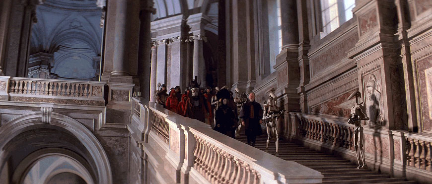 Star Wars episode-I the phantom menace Caserta Palace