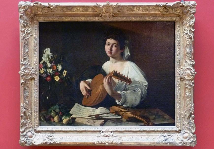 Caravaggio Hermitage museum