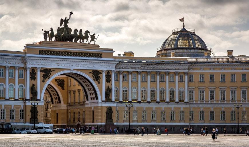 Hermitage museum Saint Petersburg General Staff Building