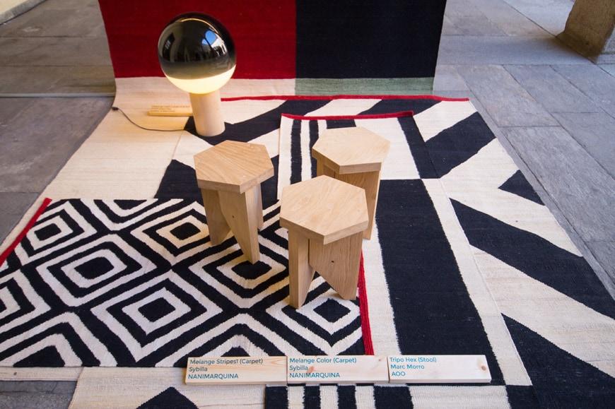 Inspired in Barcelona Catalan design exhibition Miilan Inexhibit 08