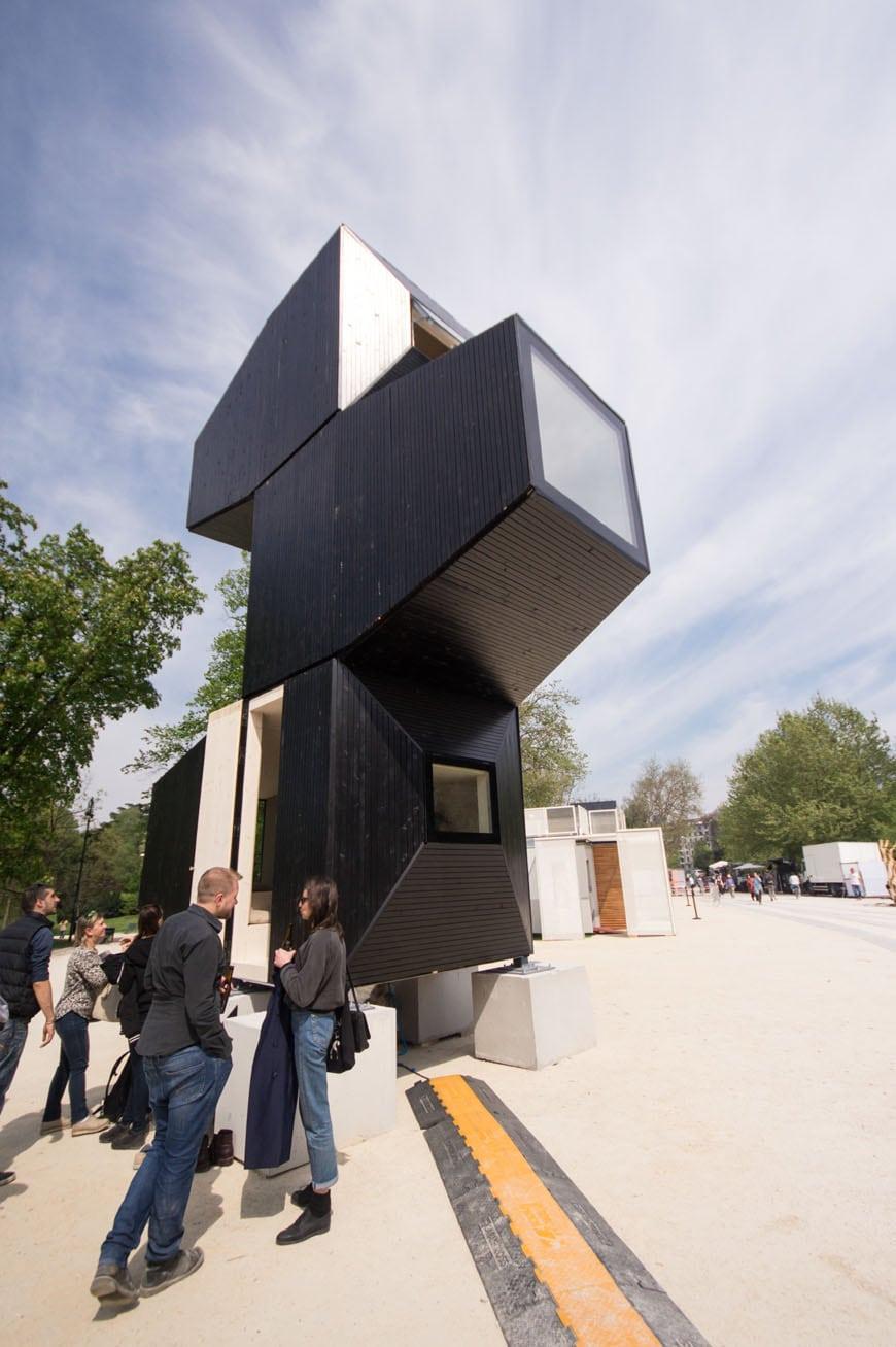 Living Unit modular housing unit Milan Design Week 2017 Inexhibit 05