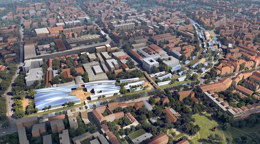 MAD Architects Porta Genova rail yard Milan redevelopment project 1