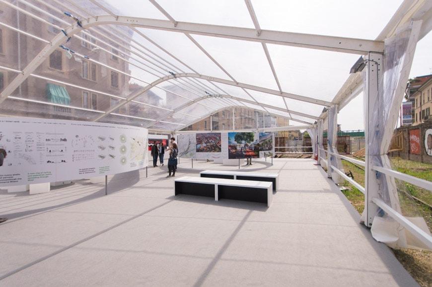 Mostra progetti Scali ferroviari Milano Inexhibit 01