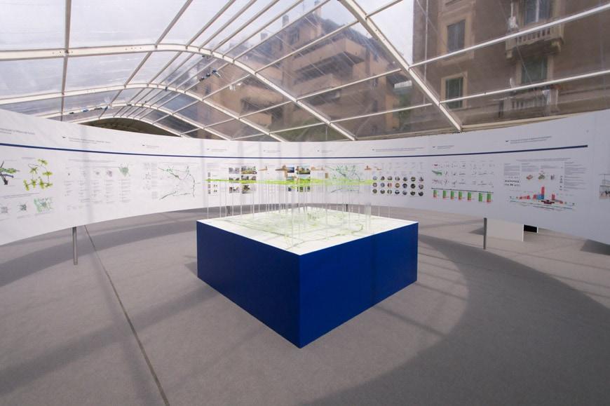 Mostra progetti Scali ferroviari Milano Inexhibit 04