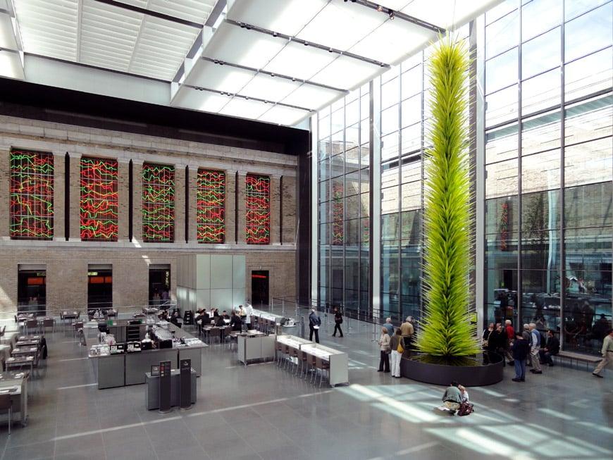 Museum Fine Arts Boston MFA lobby