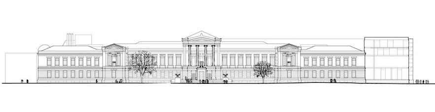 Museum Fine Arts Boston elevation Foster partners 02