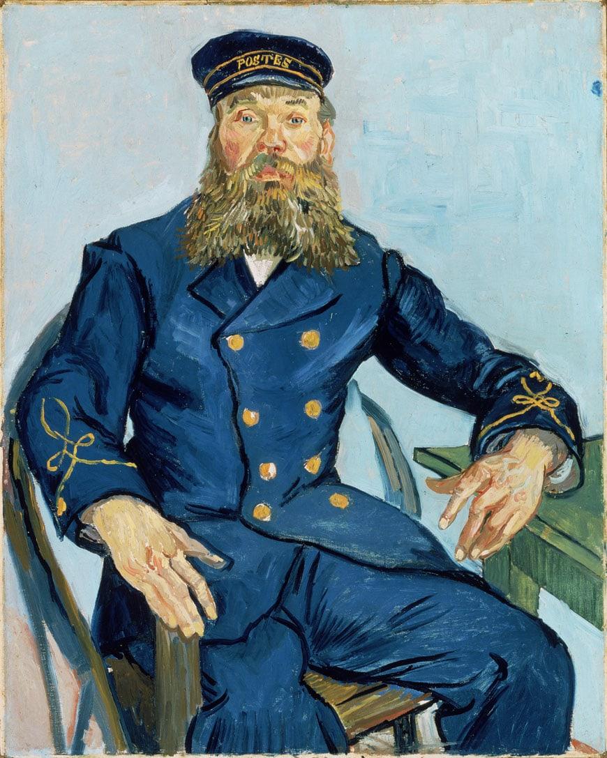 Postman Joseph Roulin van Gogh MFA Boston