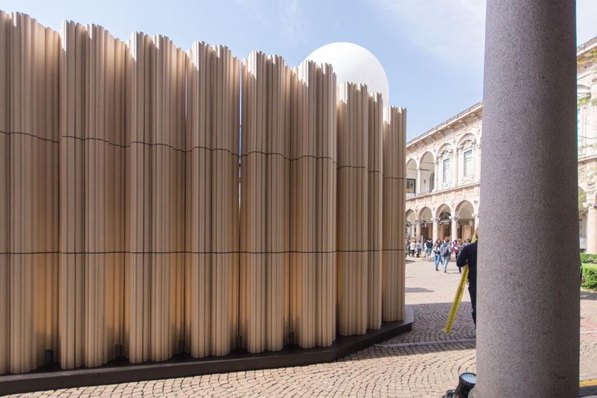 SHoP Architects Wave Cave installation Milan Design Week 2017 Inexhibit 04