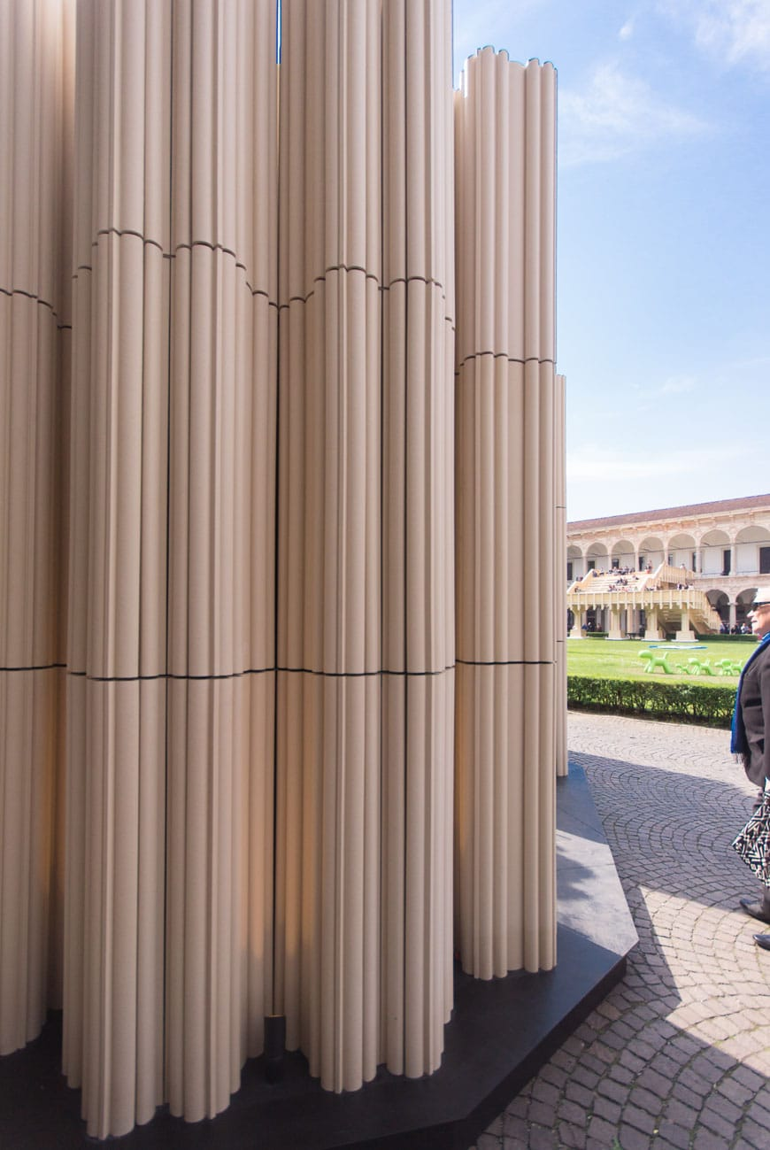 SHoP Architects Wave Cave installation Milan Design Week 2017 Inexhibit 05