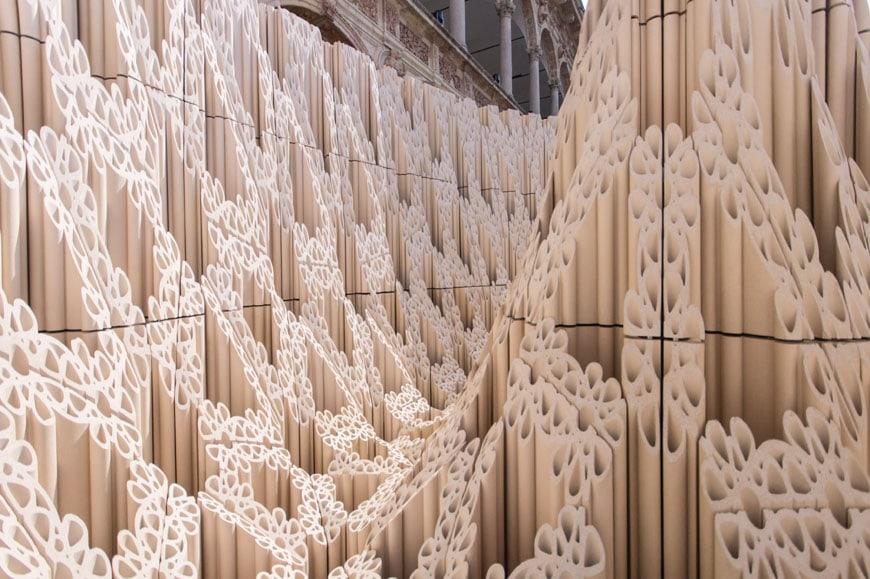 SHoP Architects Wave Cave installation Milan Design Week 2017 Inexhibit 08