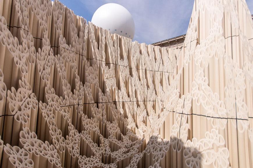 SHoP Architects Wave Cave installation Milan Design Week 2017 Inexhibit 10
