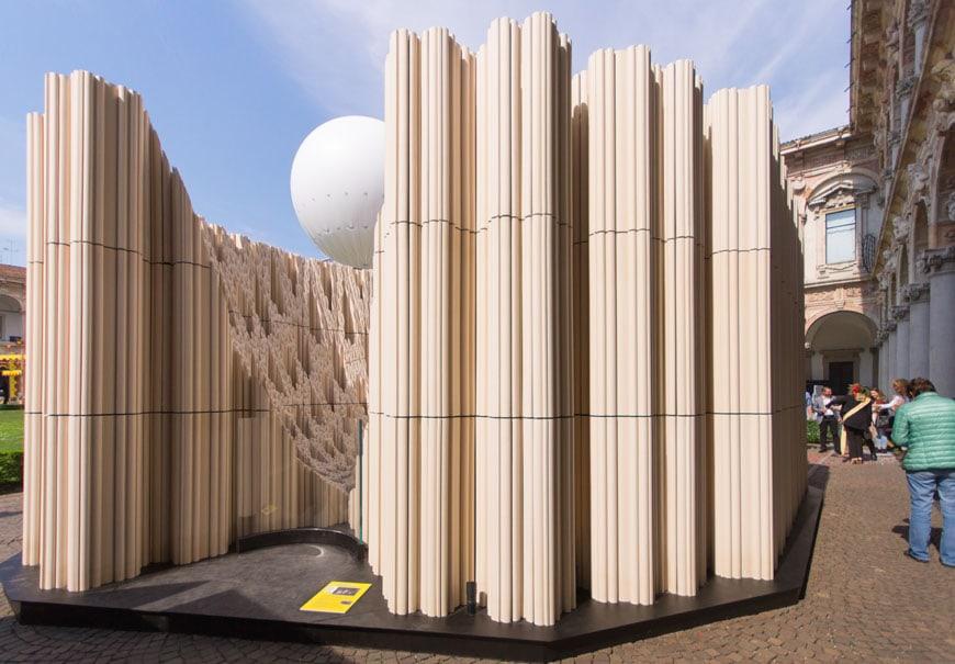 SHoP Architects Wave Cave installation Milan Design Week 2017 Inexhibit 11