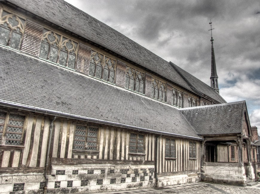 Saint Catherine's Church Honfleur
