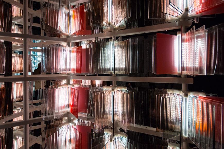 Salviati glass light fixtures Milan Design Week Inexhibit 7