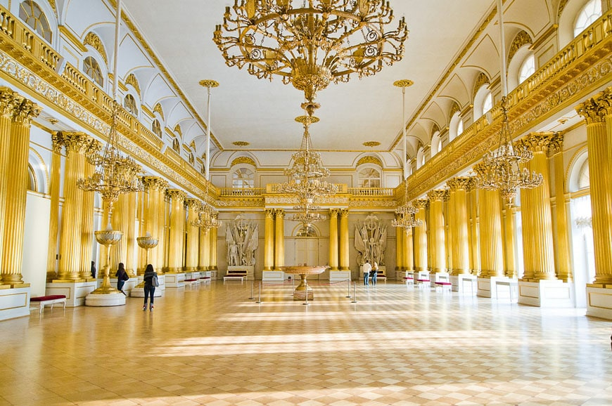 Winter Palace Hermitage Saint Petersburg 07