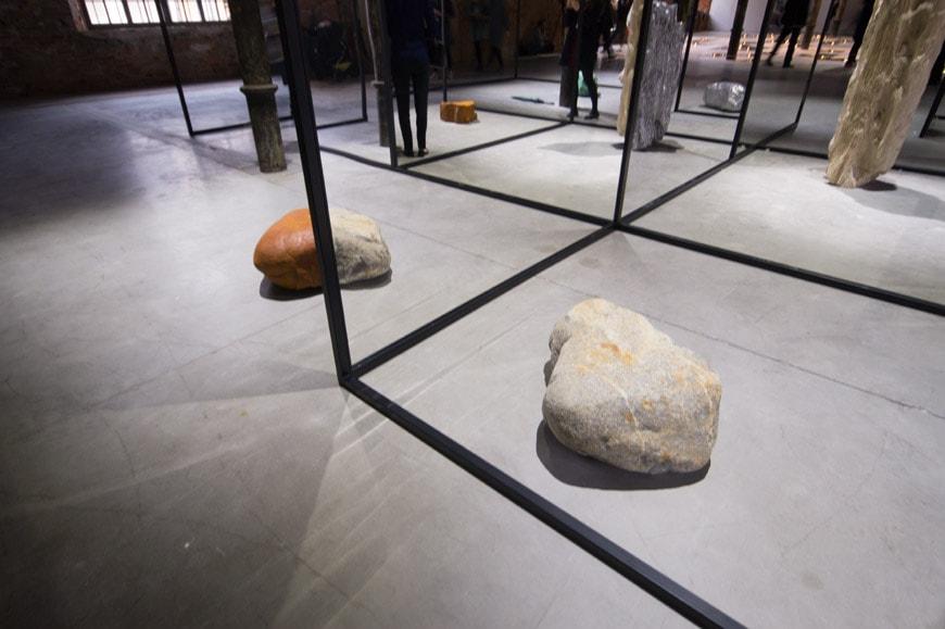 Art Biennale Venice 2017 Alicia Kwade Inexhibit 2