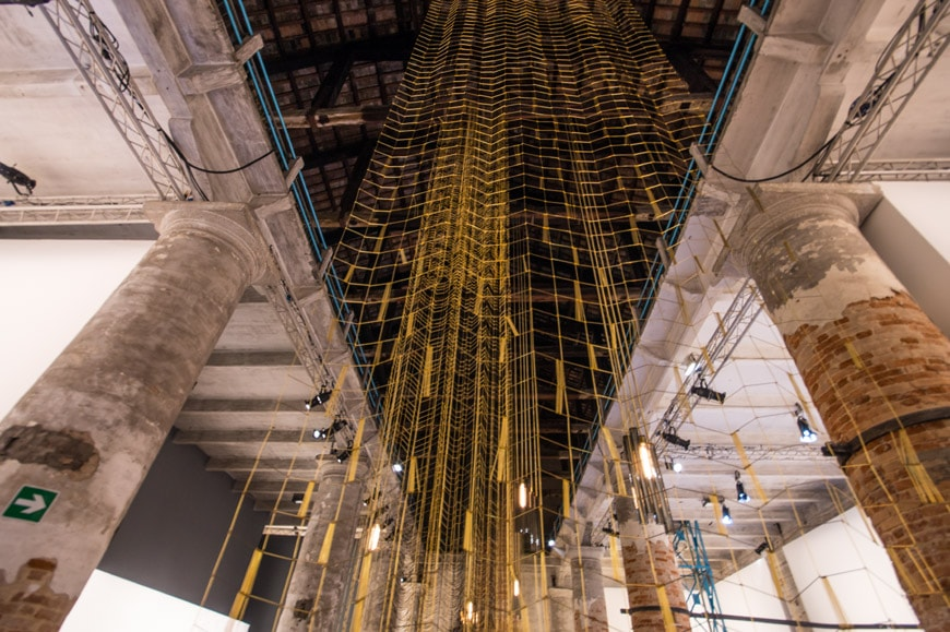 Art Biennale Venice 2017 Leonor Antunes Inexhibit