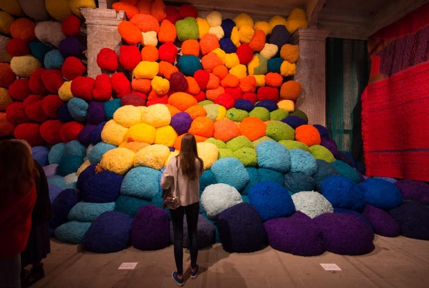 Art Biennale Venice 2017 Sheila Hicks Inexhibit