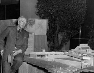 Frank-Lloyd Wright portrait MoMA