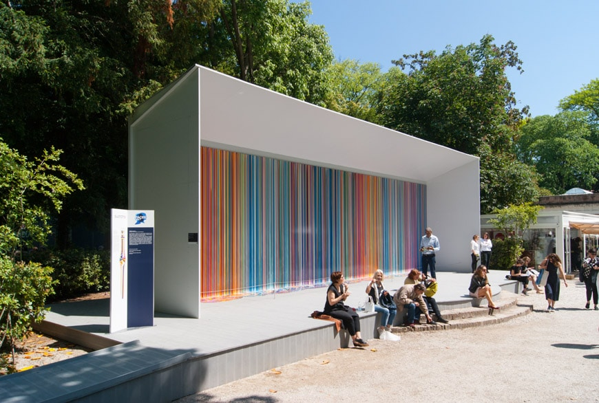 Ian-Davenport-Giardini-Colourfall-for-Swatch-Venice-Art-Biennale-2017-Inexhibit-1